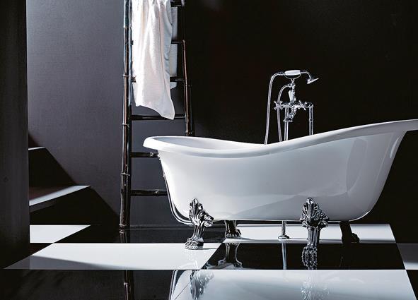 Prodotti vernicianti per interni - Vasca da bagno con piedi ...